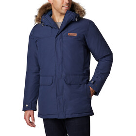 Columbia Marquam Peak Parka Homme, collegiate navy